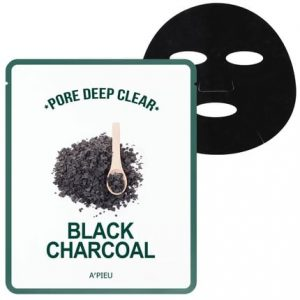 A'pieu Pore Deep Clear Black Charcoal Mud Mask -kangasnaamio