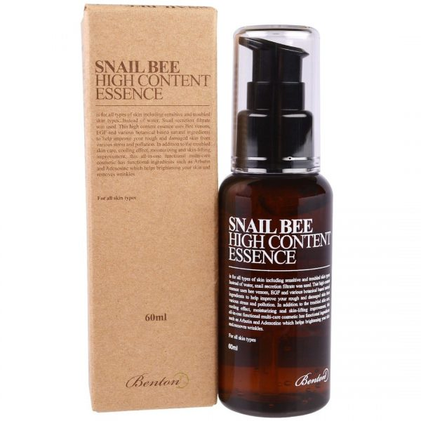 Benton Snail Bee High Content Essence -hoitoneste