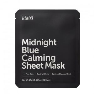 Klairs Midnight Blue Calming Sheet Mask - kangasnaamio -Kokoskin.fi