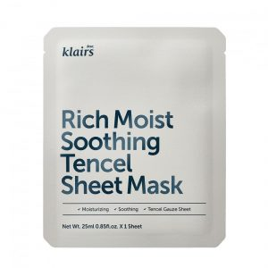 Klairs Rich Moist Soothing Tencel Sheet Mask - Kokoskin.fi