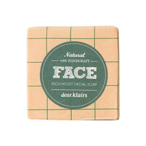 Klairs Rich Moist Facial Soap - palasaippua
