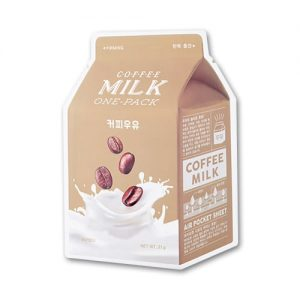 A'pieu Coffee Milk One Pack -kangasnaamio
