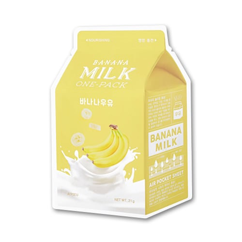 A'pieu Banana Milk One Pack -kangasnaamio