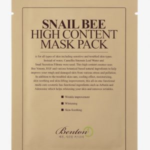 Benton Snail Bee High Content Mask Pack -kangasnaamio