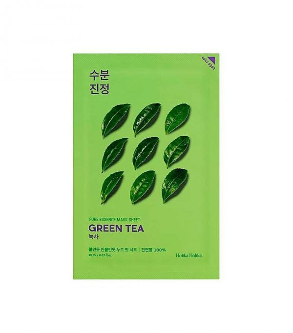 Holika Holika Pure Essence Mask Sheet Green Tea -kangasnaamio