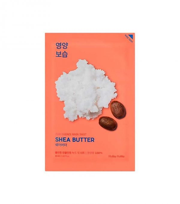 Holika Holika Pure Essence Mask Sheet Shea Butter -kangasnaamio