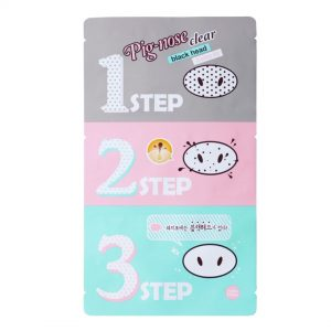 Holika Holika Pig Nose Clear Blackhead 3-step-mustapäähoito