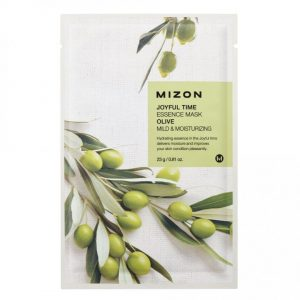 Mizon Joyful Time Essence Sheet Mask Olive -kangasnaamio