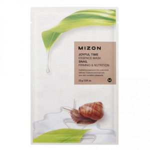 Mizon Joyful Time Essence Sheet Mask Snail -kangasnaamio