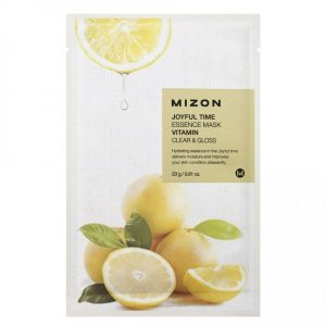 Mizon Joyful Time Essence Sheet Mask Vitamin -kangasnaamio