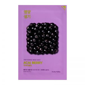 Holika Holika Pure Essence Mask Sheet Acai Berry -kangasnaamio