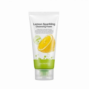 Secret Key Lemon Sparkling Cleansing Foam – puhdistusvaahto