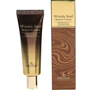 The Skin House Wrinkle Snail System Cream (Tube) -kosteusvoide