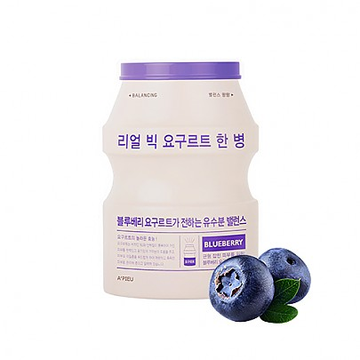 A'pieu Real Big Yogurt One -Bottle (Blueberry) -kangasnaamio