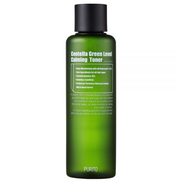 PURITO Centella Green Level Calming Toner -kasvovesi