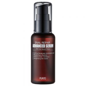 PURITO Snail Repair Advanced Serum -etanamusiiniseerumi