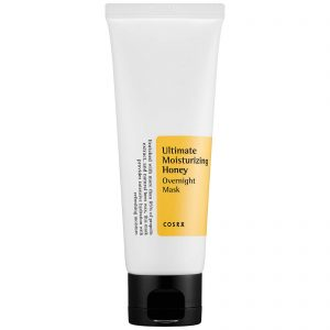 Cosrx Ultimate Moisturizing Honey Overnight Mask -yönaamio