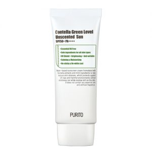 PURITO Centella Green Level Unscented Sun SPF50 aurinkosuojavoide - Kokoskin.fi