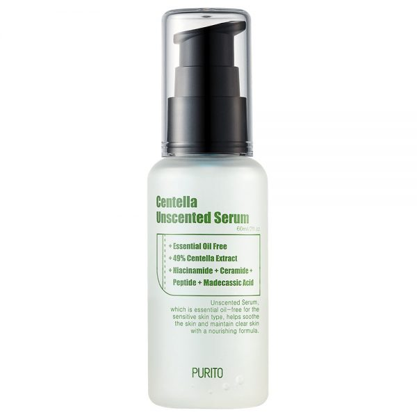 PURITO Centella Unscented Serum - Kokoskin.fi