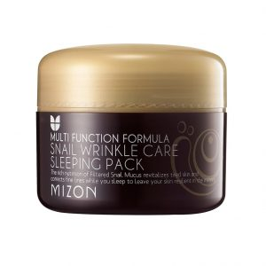Mizon Snail Wrinkle Care Sleeping Pack -Kokoskin.fi