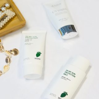 New sunscreens added in shop!  YADAH Milk and Cream.  D'Alba Essence Cream special for mature aging skin.  All with SPF 50.  #kokoskinfi #korealainenkosmetiikka #kbeautyeurope #aurinkosuojavoide #spfisbff #koreanskhudvård #koreanskhudpleje #spfvoiteet
